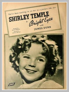 Shirley Temple ~ 1935 love her dimples  smile, so adorable!