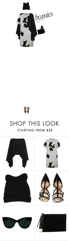 """""""Untitled #197"""" by ria-vjd ❤ liked on Polyvore featuring Donna Karan, Marc by Marc Jacobs, George J. Love, Valentino, KamaliKulture, NLY Accessories, beanies, 2015 and VJDfashion"""