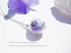 Blütenkette Phlox 925er Kette von flowerring  auf DaWanda.com