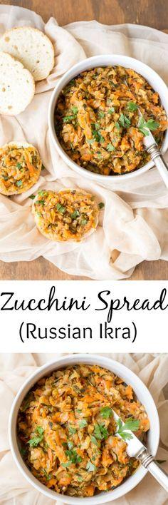 Zucchini Spread (Ikra). ValentinasCorner.com