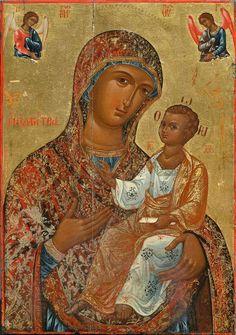 Библиотека ИКОНОПИСИ Religious Images, Religious Art, Religious Paintings, Byzantine Icons, Blessed Virgin Mary, Orthodox Icons, Holy Quotes, Our Lady, Art Images