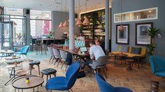 Het warenhuis Amsterdam Veggfarge