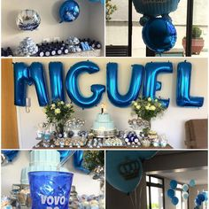 Chá de Bebê 👶🏻 do Miguel não teria o mesmo encanto sem os copos, água e baloons personalizados 🎈🎈da @personalize_me  Obrigada meninas pelo excelente trabalho! Amamos de paixão!! #_babymiguel #chadebebe #baloons #copospersonalizados #aguapersonalizada #baloonspersonalizados #personalizeme