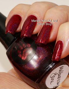 Marias Nail Art and Polish Blog: Bear Pawlish Mulbearry Lane swatches