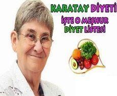 Karatay Diyeti Listesi   7 Günlük Diyet Programı #karataydiyeti #karataydiyetilistesi #canankaratay
