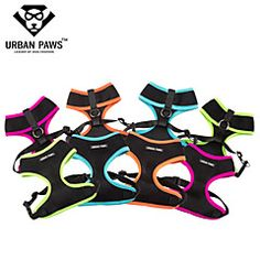 URBAN PAWS Airmesh Breathable Adjustable Pet Harness with So... – USD $ 7.49