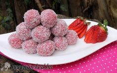 Archívy Recepty - Page 43 of 798 - To je nápad! No Bake Treats, Sweet And Salty, Truffles, Raspberry, Deserts, Goodies, Food And Drink, Healthy Recipes, Healthy Meals