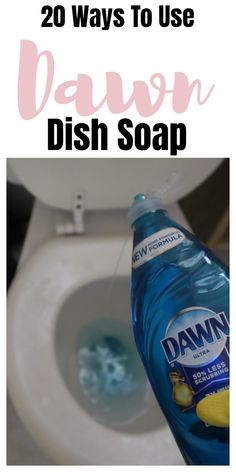 Dawn dish soap household and cleaning tips, tricks, and hacks. Dawn dish soap household and cleaning tips, tricks, and hacks. Bathroom Cleaning Hacks, Household Cleaning Tips, House Cleaning Tips, Diy Cleaning Products, Cleaning Solutions, Deep Cleaning, Spring Cleaning, Cleaning Checklist, Household Cleaners