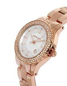 Michael Kors Rose Gold Bracelet Watch  #mybetsonBetts #BettsRaceDayReady #BettsShoes