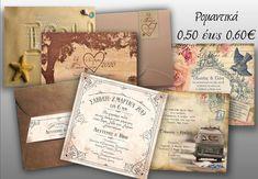 προσκλητήρια γάμου ρομαντικά vintage Vintage, Vintage Comics