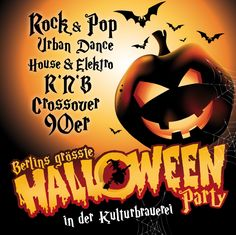 Halloween in der Kulturbrauerei – mit RIGHT NOW im Kesselhaus « Kulturbrauerei