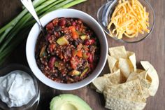 Recipes galore // Quinoa Chili