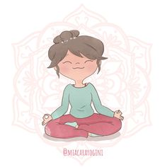 Lotus Pose Yoga, Yoga Illustration, Buddha, Disney Characters, Fictional Characters, Character Design, Arts And Crafts, Poses, Illustrations