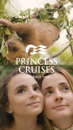 Connect with nature and find a moment of change. Princess Cruises. Come back new.