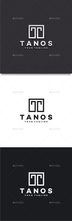 Tanos - Letter T Logo - Letters Logo Templates