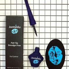 It's all about precision 👀 @jonteblu felt tip liquid eyeliner, link in bio to shop! . . . . #makeuplove #jonteblu #beauty #makeup #makeupblog #mua #eyemakeup #eyes #cateye #lovemakeup #kiss #lips #beautytrends #trendy #trendsetter #hudabeauty #makeuptutorial