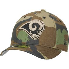 Los Angeles Rams New Era Woodland Camo Low Profile 59FIFTY Fitted Hat - $27.99