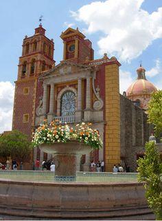 #Tequisquiapan, Querétaro #Mexico #Viajar #Church #Iglesia