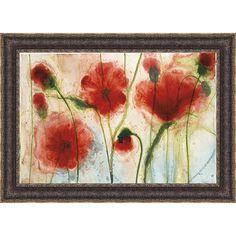 Elise Remender 'Spring Dance One' Framed Print