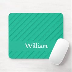 Custom name blue diagonal plastic textured mouse pad Plastic Texture, Business Supplies, Party Hats, Funny Cute, Kids Shop, Names, Store, Blue, Tent