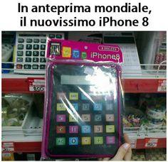 Il nuovo iPhone 8!!!