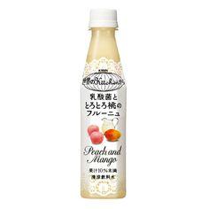 キリン 世界のKitchenから <乳酸菌ととろとろ桃のフルーニュ> - 食@新製品 - 『新製品』から食の今と明日を見る!