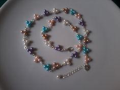 "bracelet or necklace ""rainbow"""