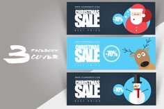 #Social #Media Pack by Flotas Media Market on @creativemarket  #Facebook #cover #flatdesign