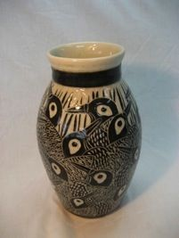 Theresa Gong Porcelain vase -in my collection.