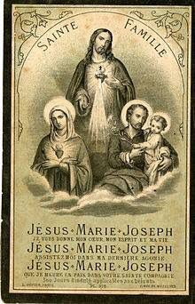 Sacred Heart and the Holy Family