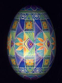 goose egg - fish design