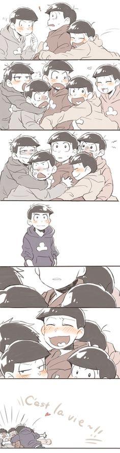おそ松さん Karamatsu is the best okay dammit i love him so muuuuch