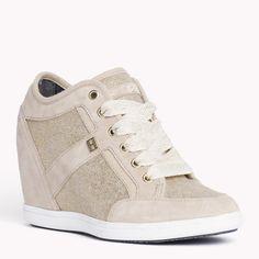 Tommy Hilfiger Stella Sneaker - beige/gold (Brown) - Tommy Hilfiger Sneakers - main image