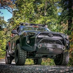 View our Toyota Slimline Hybrid front bumper with HEISE LED. Toyota Trd Pro, Toyota 4runner Trd, Toyota Trucks, Toyota Tundra, Toyota Tacoma, Toyota Four Runner, Overland 4runner, Best Off Road Vehicles, Truck Accesories