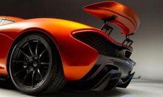 Back McLaren P1