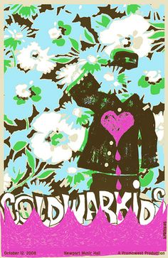 cold war kids music gig posters