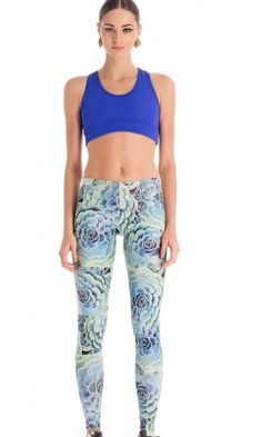 Super stylish and cool these ankle length leggings/tights. This unique pattern to CCM will catch the eye, they are cool enough to wear out or for all kinds of exercise. The fabric offers great support and stretch. Funky Leggings, Tight Leggings, Ankle Length Leggings, Stunning Women, Personal Stylist, Casual Wear, Activewear, Long Sleeve Tops, Sportswear