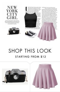 """""""New York"""" by autumn-kirby2020 on Polyvore featuring Converse"""