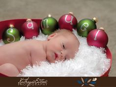 Baby's First Christmas. For my friends with newborn