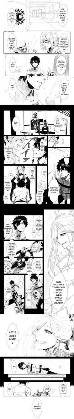 We Will Meet Again, Musashi Werewolf Games, Sad Comics, Miyamoto Musashi, Body Swap, Fate Servants, Fate Anime Series, Fate Zero, Type Moon, Nightingale