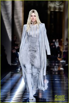 Kendall Jenner & Gigi Hadid Switch Up Their Hair Colors for Balmain Paris Show: Photo #936797. Kendall Jenner sports bleached blond hair while walking the catwalk during the Balmain show held during 2016 Paris Fashion Week on Thursday (March 3) in Paris, France.…