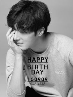 Happy Birthday, Jung Il Woo.  Sept 09.  http://jiw-fc.jp/