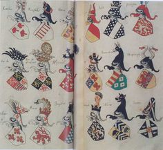 French, 1410-1420, Armorial Lalaing