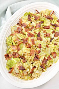 Fried Cabbage with Onions and Bacon Onion Recipes, Vegetable Recipes, New Recipes, Cooking Recipes, Favorite Recipes, Healthy Recipes, Steak Recipes, Ketogenic Recipes, Recipies