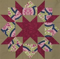 By ~ maripen 24 Blocks, Star Quilt Blocks, Star Quilts, Easy Quilts, Patchwork Patterns, Quilt Patterns, Basket Quilt, Jenni, Pattern Blocks