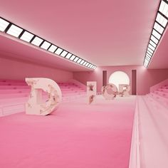 The highly anticipated collection has arrived today and that is the Dior Men's Spring Since the arrival of Kim Jones as the Men's creative director. Since his first collection at the Fashion house I've … Dior, Stage Design, Set Design, Catwalk Design, Art Cube, Rimowa, Everything Pink, Pink Aesthetic, Creative Director