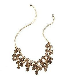 Bright Sky necklace by Roberta Chiarella: The gems of this necklace look like tossed confetti; the neutral color keeps them grounded (a.k.a. office-appropriate).