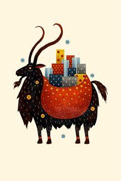 scott benson - yule goat