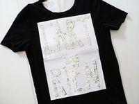 make t-shirts using old crayons