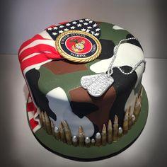 Marine/Camo/American+Flag+Birthday+Cake+-+Cake+by+Dani